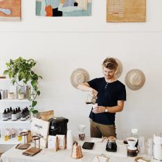 Meet the Seriously Cool Couple Behind This Coffee Brand with a Cult Following