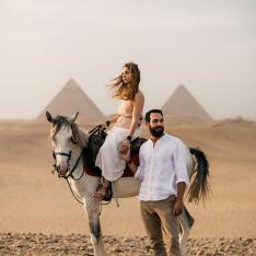 A Magical Wedding Adventure Through the Sparkling Land of Egypt