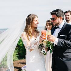This Maine Wedding Was Like A Giant Weekend-Long Slumber Party