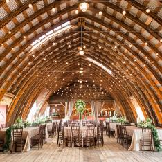This Couple Restored a Romantic New York Barn and Then Got Married in It!