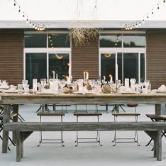 A Geode-Filled Wedding Feast In The Dreamy Desertscape Of Joshua Tree