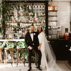See How This Couple Turned A Gastro Pub Into The Wedding Venue Of Their Dreams