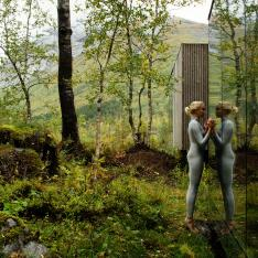 Stay In A Glass Cube Hotel On Stilts In Norway's Countryside