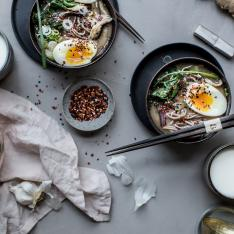 Beth Kirby of Local Milk Inspires With A Detox Recipe for Spicy Soba and Miso Soup