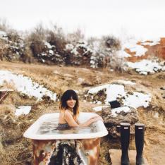 See Why Mystic Hot Springs is One of Utah's Coolest Places To Go Before Winter Ends