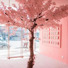 This New Pretty In Pink Pop-Up Has All Of  L.A. Talking