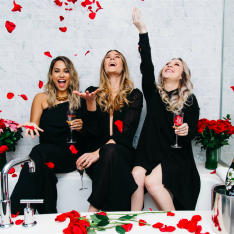 The Staycationers: Tips And Tricks For The Ultimate Valentine's Date With The Whole Gang (Boys Allowed)
