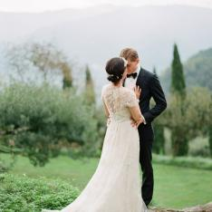This Couple Just Hosted Everyone's Dream Tuscan Villa Wedding