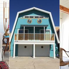 History Lesson: How a 1970's A-Frame Transformed into the Most Beautiful Bohemian Beach House... Ever