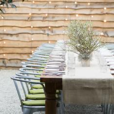 A Tastemakers Dinner Party in a Greenhouse at Shop Terrain