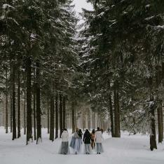This Snowy Wedding Proves That Winter Is the Dreamiest Season