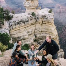 We Had a Picnic on the Edge of the Grand Canyon