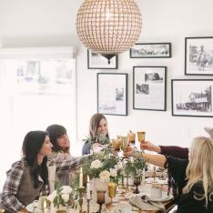 Holiday Recipes and Styling Tips for a Winter Wonderland Dinner Party