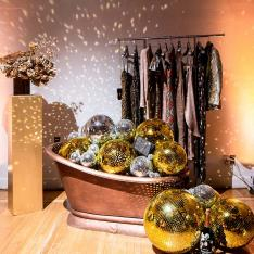 How to Throw a Decadent, Gold Dusted Holiday Party