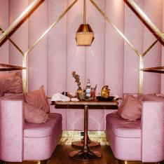 This New Restaurant Is Seriously Pink, in a Really Good Way
