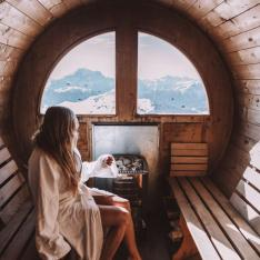 Ski Your Heart Out Then Hit the Sauna Hard In This Winter Dreamland
