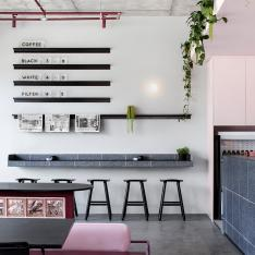 No Need for Rose-Colored Glasses at This Perky Melbourne Café