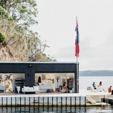 The Perfect Private Island Off Tasmania's Coast for a Sea-Inspired Fête