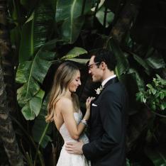 This Ballroom Wedding is Bringing Old Hollywood Glam Back