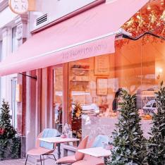 Check Out This Flowery London Café That Packs a Pink Punch