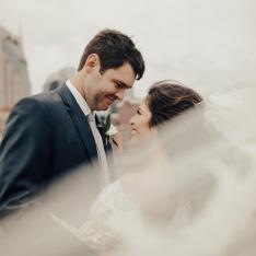 A Rainy Day Wedding at Nashville's Most Beautiful Industrial Venue