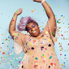 Why This Brooklyn-Based Photographer Wants to Douse You in Confetti