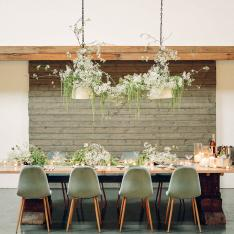 This Spring Inspired Dinner Party Was All About Helping the Community
