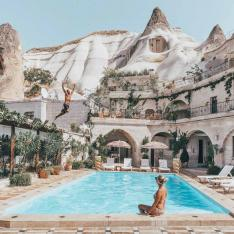 Birthday Goals: Sleep in a Cave Surrounded by Fairy Chimneys