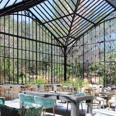 We'll Take Our Brunch in the Atrium, S'il Vous Plaît