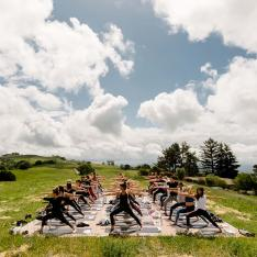 This Yoga Retreat Was All About Shifting Perspectives Around Cannabis