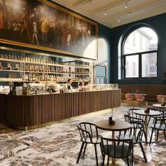 You Have to See to Believe How Cool This New Museum Café Is
