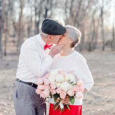 This 65th Anniversary Shoot Proves Love Knows No Age