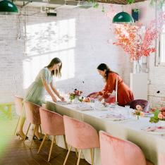 How to Set the Tone For a Galentine's Day Dinner Party