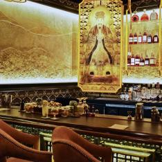 This Opulent New Speakeasy Is Housed Inside an Asian-Inspired Gastropub
