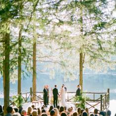 Romance and Nature Collide at a Summer Camp Style Wedding in New York