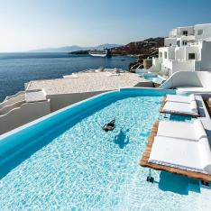 Head to Mykonos' Hottest Hotel for Your Next Birthday Bash