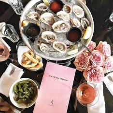 This Brand New Oyster Bar Is Located in One of LA's Most Famous Hotels