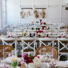 This Sunny Seaside Wedding Was A Foodie Heaven