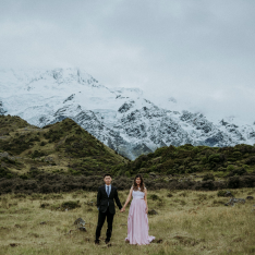 A New Zealand Adventure Turns Into A Gorgeous Engagement Shoot