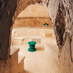 An Old Italian Village Has An Underground Winery Where You Can Drink Wine in a Cave