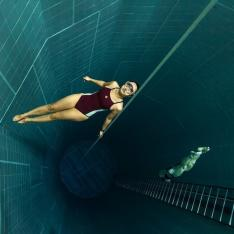 Take a Plunge Into One of the  World's Deepest Indoor Swimming Pool
