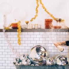 What Happens When Stylists Plan a Very Sparkly New Year's Eve Party
