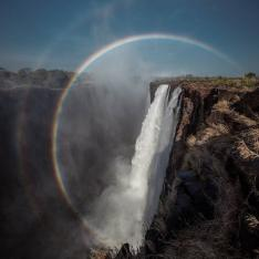 Celebrate Your Birthday at the Edge of the World's Largest Waterfall