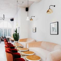 This London Designer Restaurant Used to Be a Fire Station