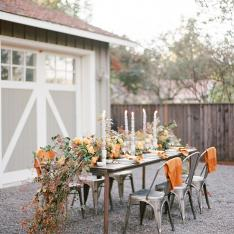 The Micro Wedding in Napa That's Inspiring Our Holiday Tables