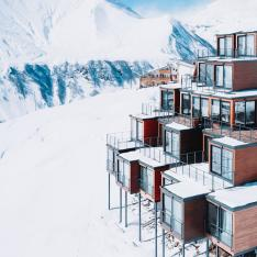 Your Next Birthday Includes Skiing & Yoga at This Pod Hotel in Georgia