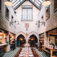 This L.A. Restaurant Looks Like a Gothic Castle