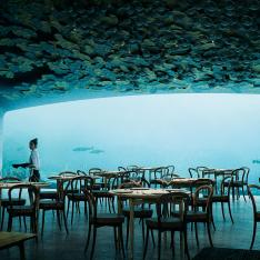 Dine Under the Sea in Norway's First Underwater Restaurant