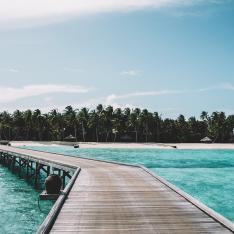 This Private Island Resort Has an Underwater Restaurant