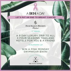 How do I enter the A Bikini A Day + The Venue Report Tour of Thailand Giveaway?